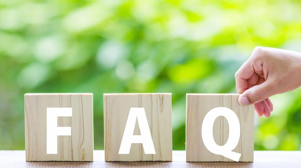 外構工事・エクステリア工事のよくある質問
